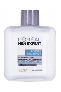 Obrázok pre Water after-shave Loreal Men Expert Hydra Sensitive Natychmiastowa Ulga (100 ml)